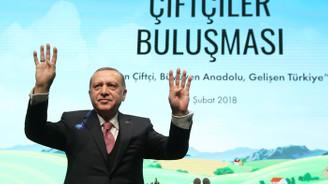 Cumhurbaşkanı Erdoğan'dan çiftçiye 'mazot' müjdesi