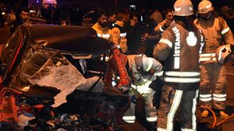 İstanbul'da ölümlü, zincirleme trafik kazası
