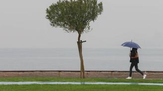Marmara'da akşam saatlerinde yağmur bekleniyor