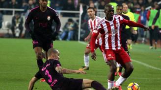 Galatasaray, Sivas'ta 3 puan bıraktı