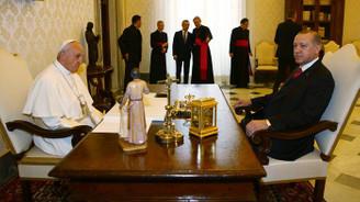 Erdoğan Papa'yla ABD'nin Kudüs kararını görüştü