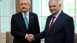 Başbakan Yıldırım'dan, Kılıçdaroğlu'na tebrik