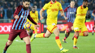 Trabzonspor-Göztepe maçından gol sesi çıkmadı