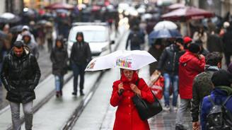 Marmara'da sağnak yağış bekleniyor