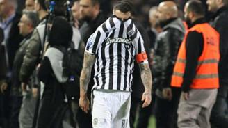 Yunanistan'da futbol ligi askıya alındı