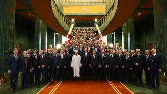 Erdoğan, il müftüleriyle bir araya geldi