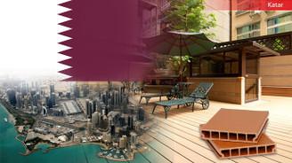 Katarlı üretici firma WPC malzeme ithal edecek