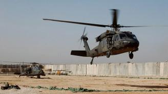 Irak'ta ABD helikopteri düştü