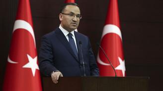 Bozdağ'dan AP kararına tepki