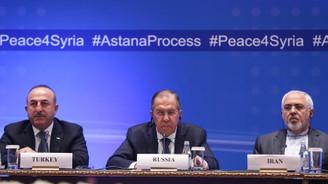 Çavuşoğlu, Lavrov ve Zarif'ten ortak Suriye bildirisi