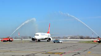 THY İstanbul-Semerkant uçuşlarını başlattı