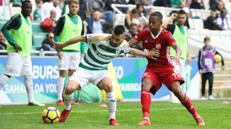 Bursaspor, Sivasspor'u tek golle devirdi