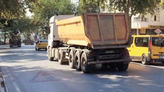 Hafriyat kamyonları için yeni düzenleme