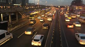 İstanbul'daki araçlar 6 ilçe kadar yer kaplıyor