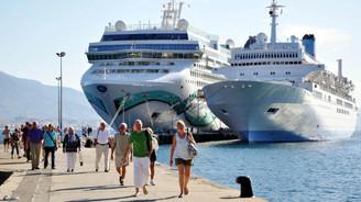 Antalya, 1 milyon kruvaziyer turisti hedefliyor