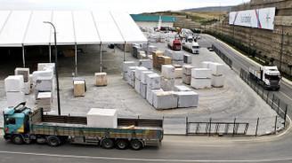 MARBLE için bin 250 TIR'la bin 500 blok taşınacak