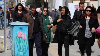 İranlı turistler nevruz tatili için Van'a akın etti