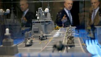 Türkiye'nin ilk milli uçak gemisi böyle görüntülendi