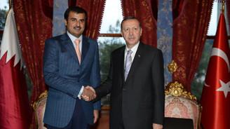 Cumhurbaşkanı Erdoğan, Al Sani ile görüştü