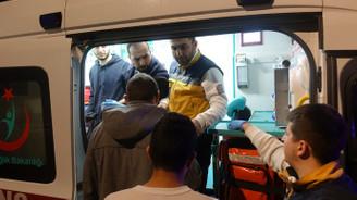 150 öğrenci zehirlendiği iddiasıyla hastaneye kaldırıldı