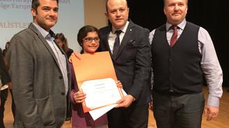 Sürücüyü uyaran sisteme TÜBİTAK'tan birincilik ödülü