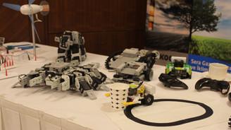 Geleceğin mucit adaylarına robotik set dağıtıldı
