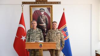 Genelkurmay Başkanı Akar Tunceli'de