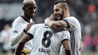 Beşiktaş'ı Talisca, Babel ve Negredo taşıyor