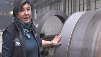 Ağır sanayinin ihracatçı kadını
