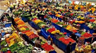 Fakir aileler için sebze pazarı