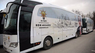 Şehrim 2023 otobüsleri yola çıktı