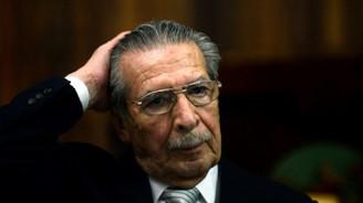 Guatemala'nın eski diktatörü Rios Montt öldü