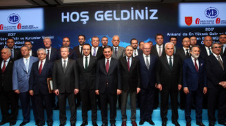 Ankara'nın vergi rekortmenleri ödüllendirildi