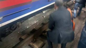 Marmaray'da raylara düşen kişi yaşamını yitirdi