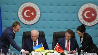 Ukrayna ile 11. anlaşma imzalandı