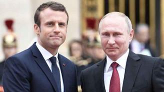 Putin ve Macron, Suriye'yi görüştü
