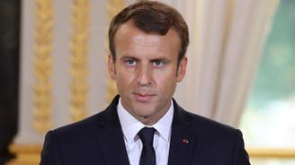 Macron: Saldırı kimyasal tesislere yapıldı