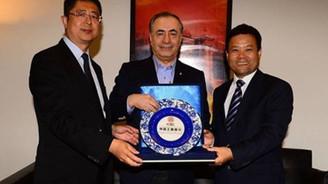 Çinli dev bankadan Galatasaray'a ziyaret