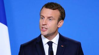 Macron: ABD ile Fransa arasında görüş ayrılığı bulunmuyor