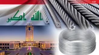 Iraklı müteahhit çelik tel satın alacak