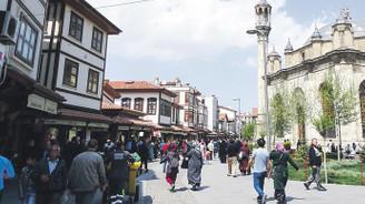 Konya'da dünle bugün iç içe
