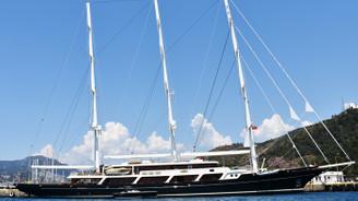 Dünyanın en büyük yelkenlilerinden EOS Marmaris'te