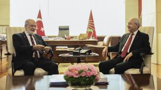Karamollaoğlu, Kılıçdaroğlu ile bir araya geldi