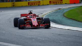 Bakü'de pole pozisyonu Vettel'in