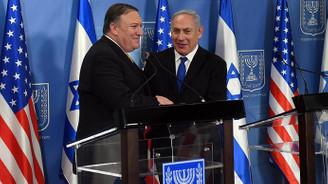 Pompeo'dan Netanyahu'a: Kalbimde özel bir yeriniz var