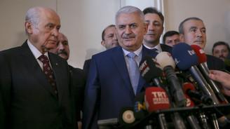 Başbakan, Bahçeli'yi ziyaret etti