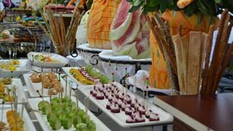 Bursa'da 'renkli' gıda fuarı