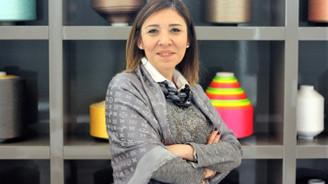 Tekstile kadın başkan