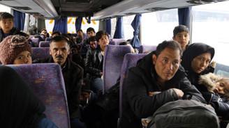 Erzurum'daki Afganistanlılar ülkelerine geri gönderiliyor