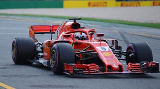 Bahreyn'de pole pozisyonu Vettel'in